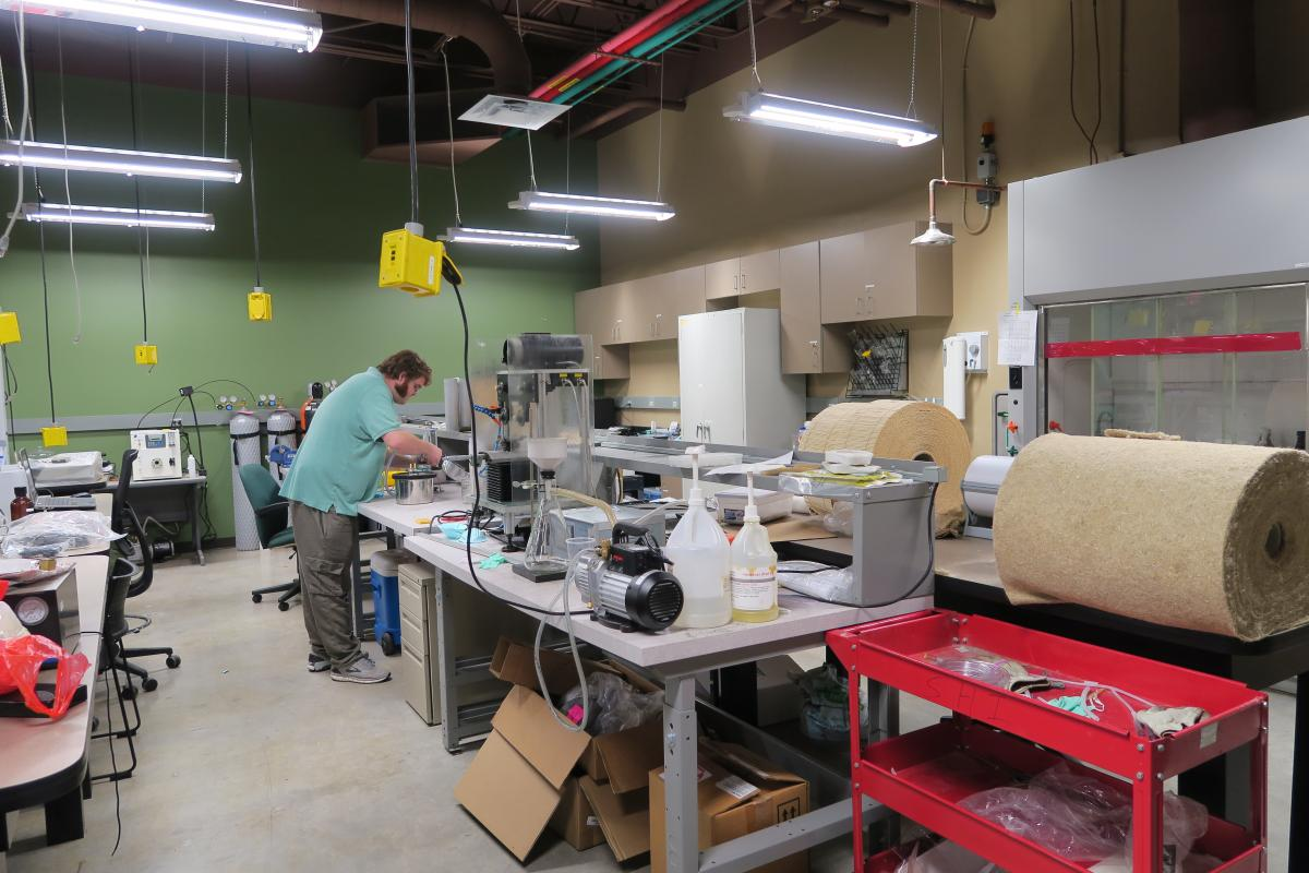 Composites Preprocessing Laboratory