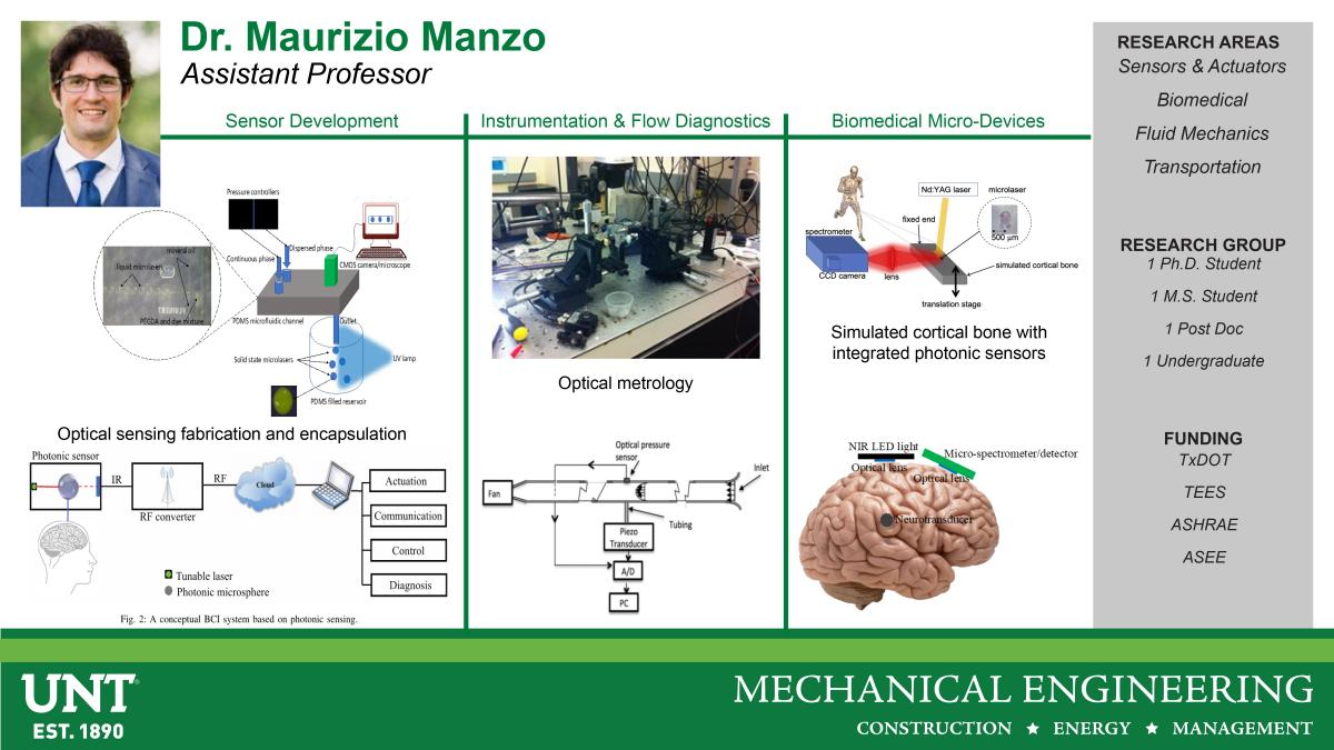 Dr Maurizio Manzo Research