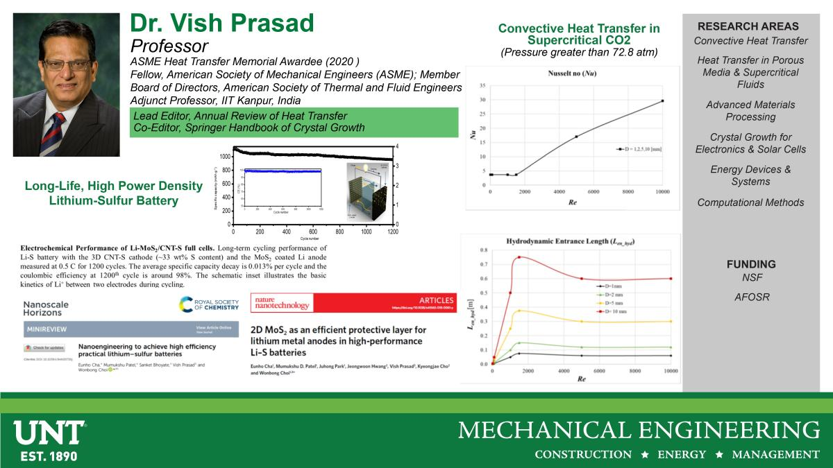 Dr Vish Prasad Research