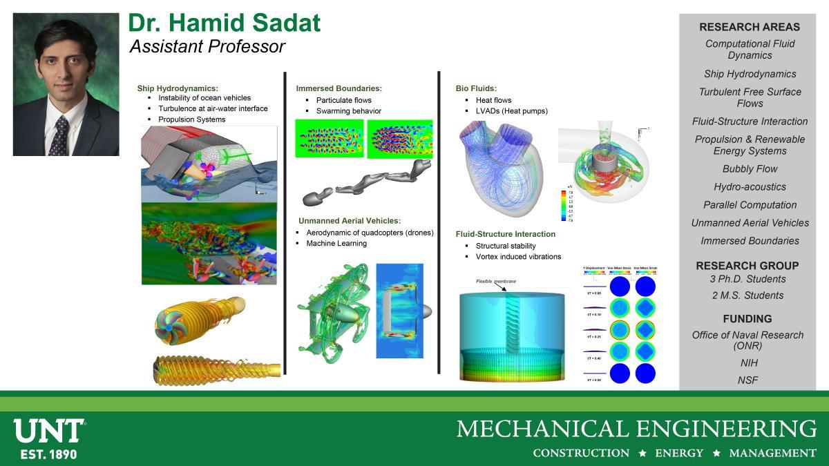 Dr. Hamid Sadat Research