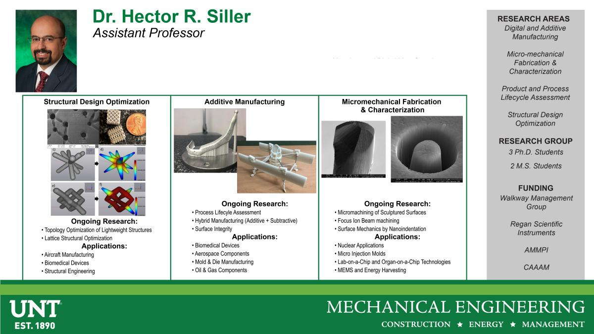 Dr. Hector Siller Research