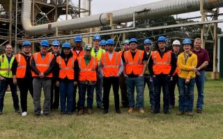 Georgia-Pacific Factory Tour Group Photo